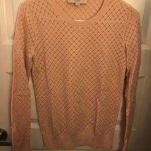 Loft pink sweater, size XS.